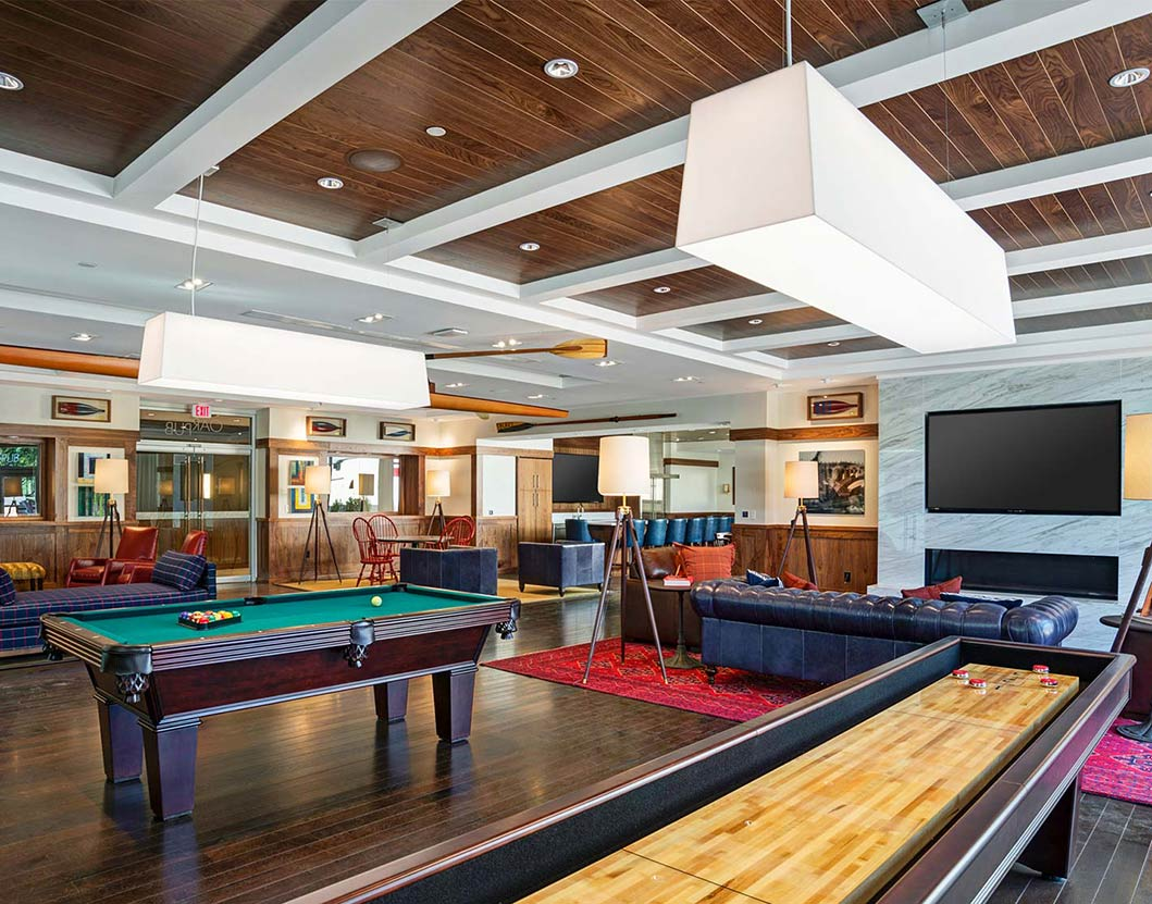 Park Towne Place Premier Apartment Homes - Philadelphia, PA - Game Room
