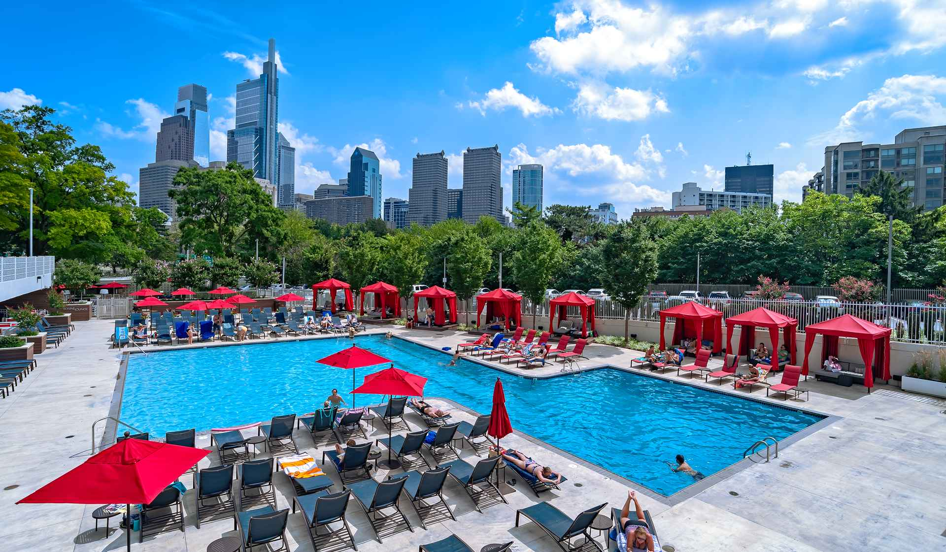 Park Towne Place Premier Apartment Homes - Philadelphia, PA - Pool