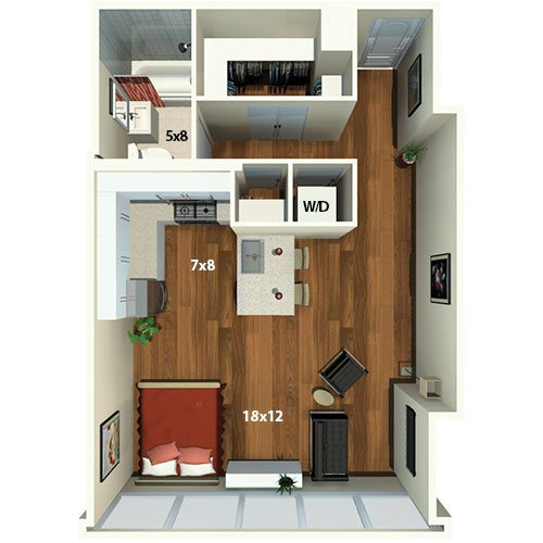 Bedroom Bath One Level Home Plans Html on
