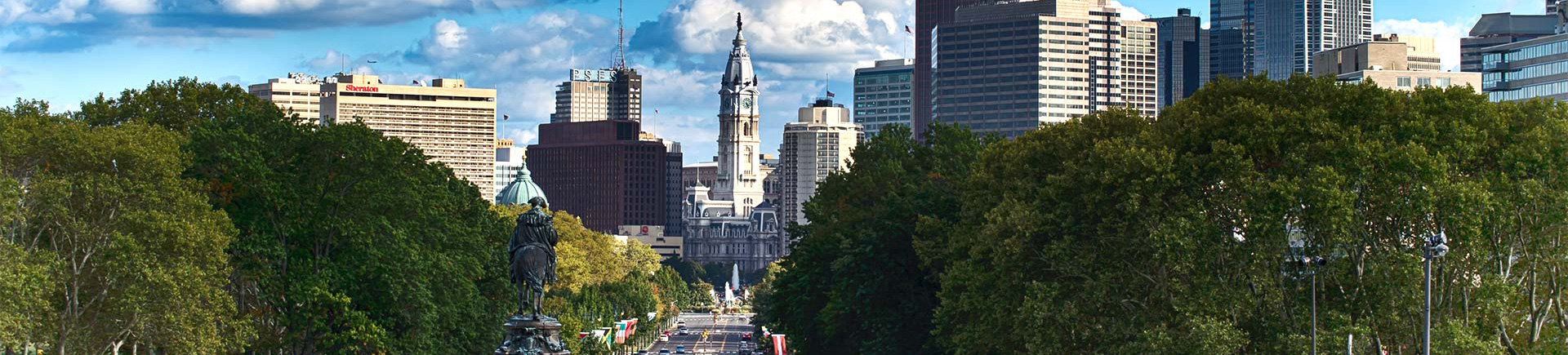 Park Towne Place Premier Apartment Homes in Philadelphia, PA - Benjamin Franklin Parkway